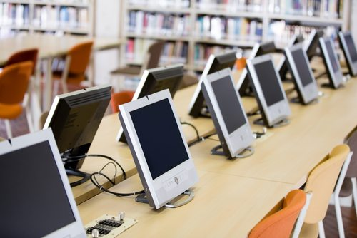 education_college_library_computers